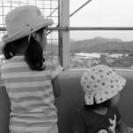 姉妹で観覧車