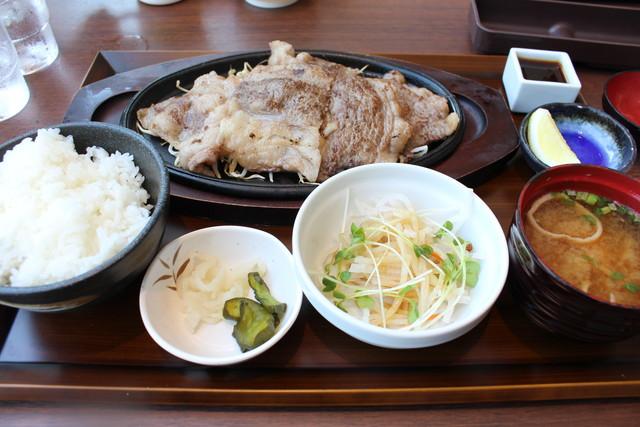 近江牛レモン焼肉定食