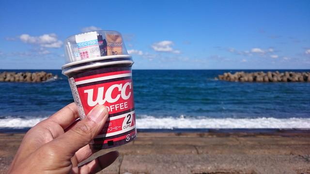コンビニ外コーヒー