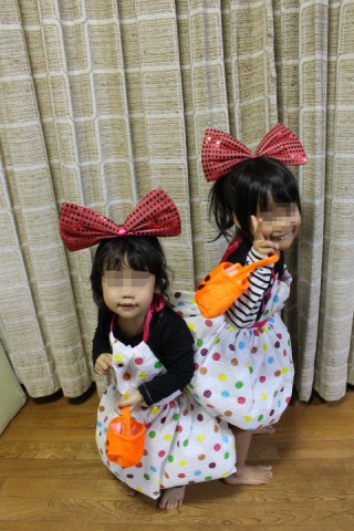 ハロウィン2015姉妹1
