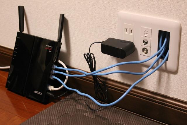 無線LAN親機と接続