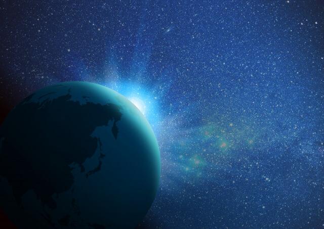 宇宙のなかの地球